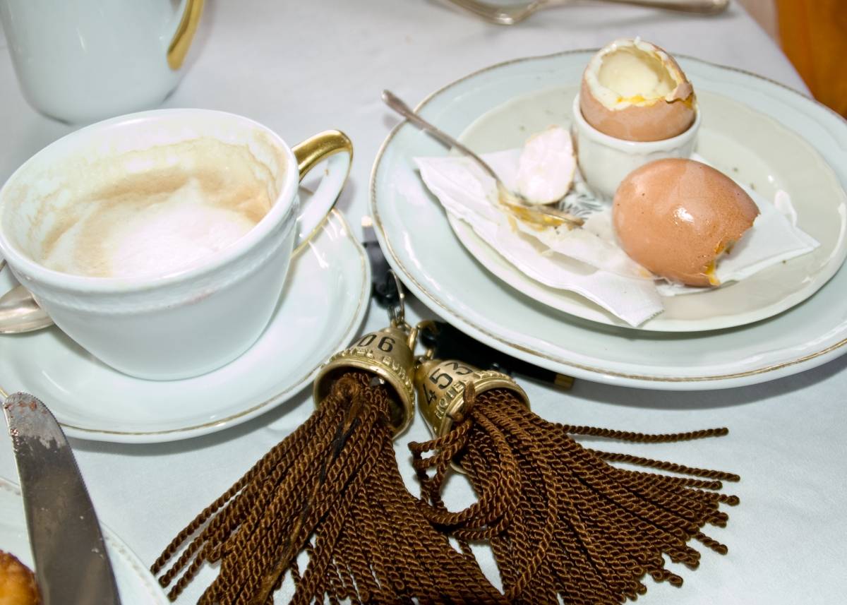 Soft Boiled Eggs and Key Fobs inVenice