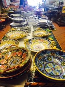 Ceramics in Revello